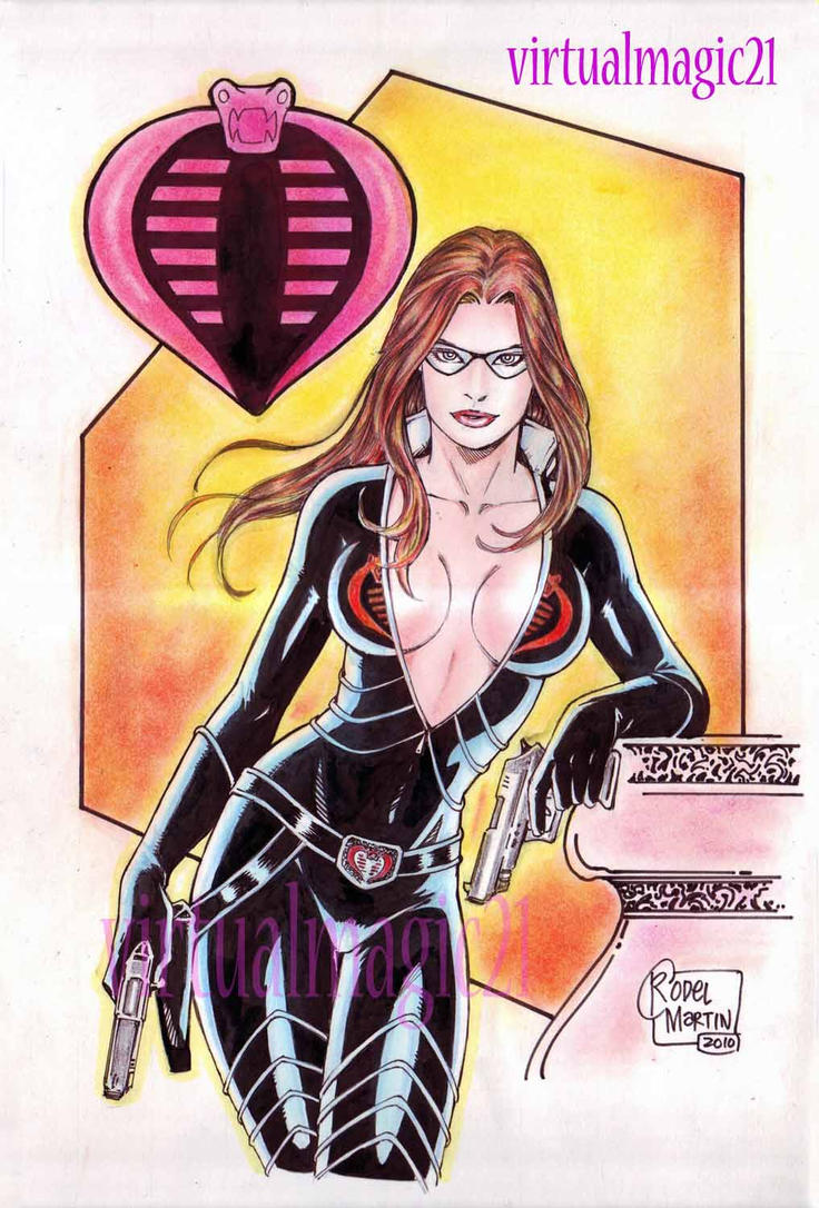 BARONESS art by RODEL MARTIN by rodelsm21