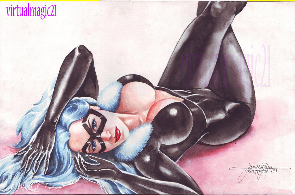 BLACK CAT by JUN DE FELIPE (10242013) by rodelsm21