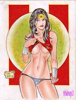 WONDER WOMAN by RODEL MARTIN (11042013) by rodelsm21