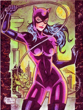 CATWOMAN by RODEL MARTIN