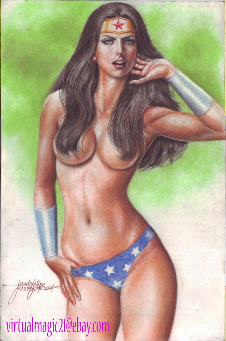 WONDER WOMAN by JUN DE FELIPE (06162014) by rodelsm21