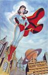 LOIS LANE as SUPER WOMAN by RODEL MARTIN (0722014)