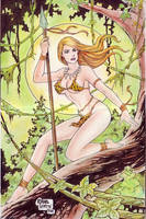 JUNGLE GIRL by RODEL MARTIN (07222014) by rodelsm21