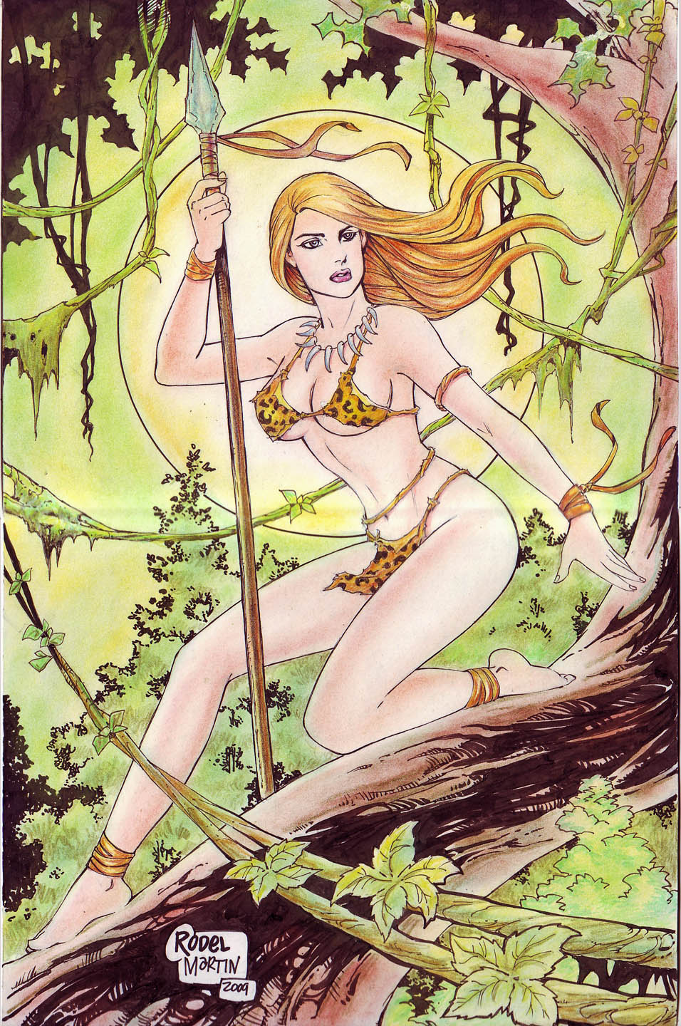 |lsm imagesize:956x1440 JUNGLE GIRL by RODEL MARTIN (07222014) by rodelsm21