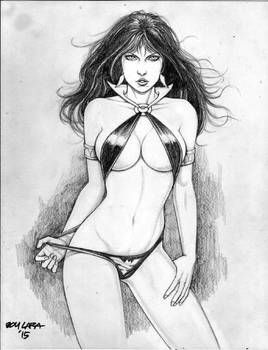 VAMPIRELLA by BOY LARA 02042015A