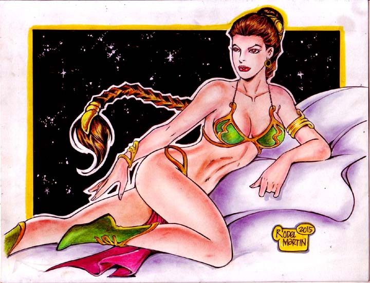 SLAVE PRINCESS LEIA By RODEL MARTIN (10062015) By