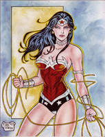 WONDER WOMAN by RODEL MARTIN (1215015)B by rodelsm21