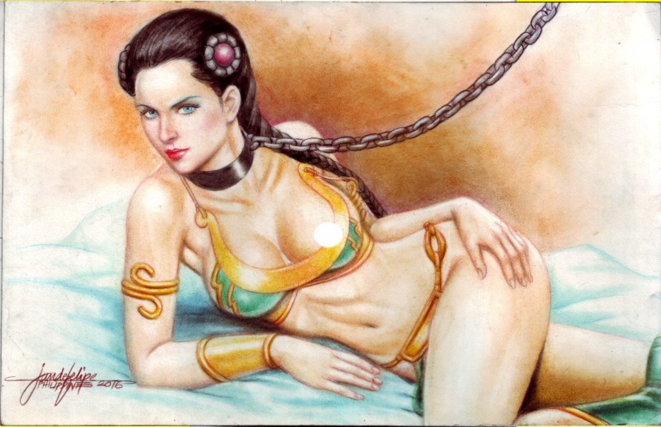 SLAVE PRINCESS LEIA By JUN DE FELIPE (06162016) By