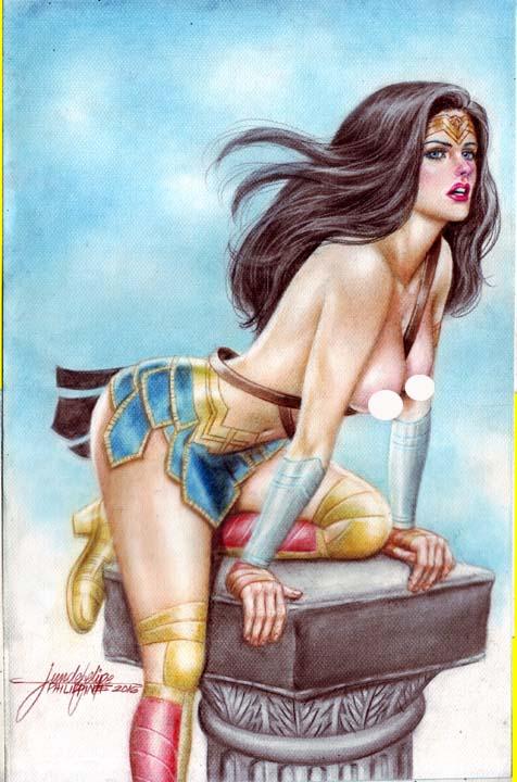 WONDER WOMAN  by JUN DE FELIPE (09132016) by rodelsm21