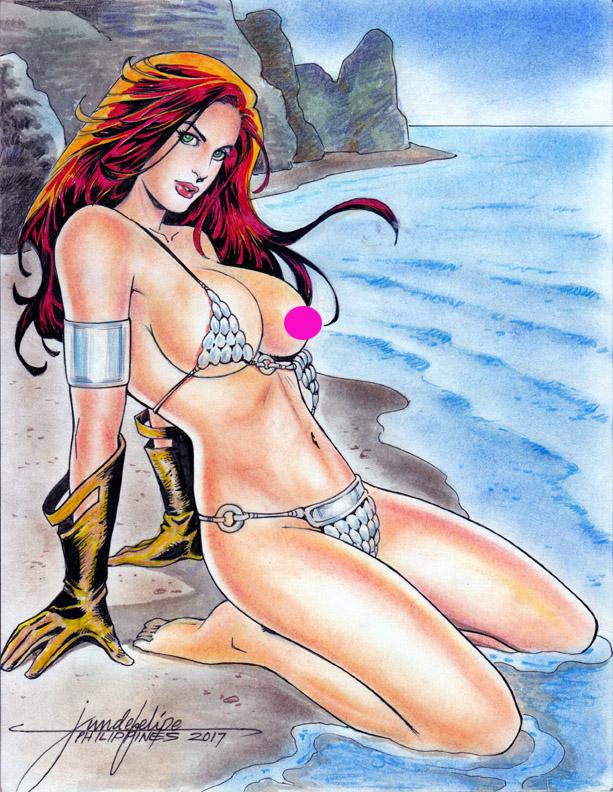 RED SONJA by JUN DE FELIPE ( 03302017 )D by rodelsm21