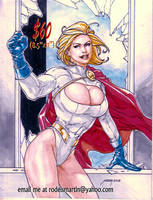 Power Girl by Noora Aug 18 2018 by rodelsm21