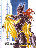 Batgirl by Noora Nov 11 2018 by rodelsm21