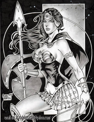 WONDER WOMAN by RODEL MARTIN 051820C by rodelsm21