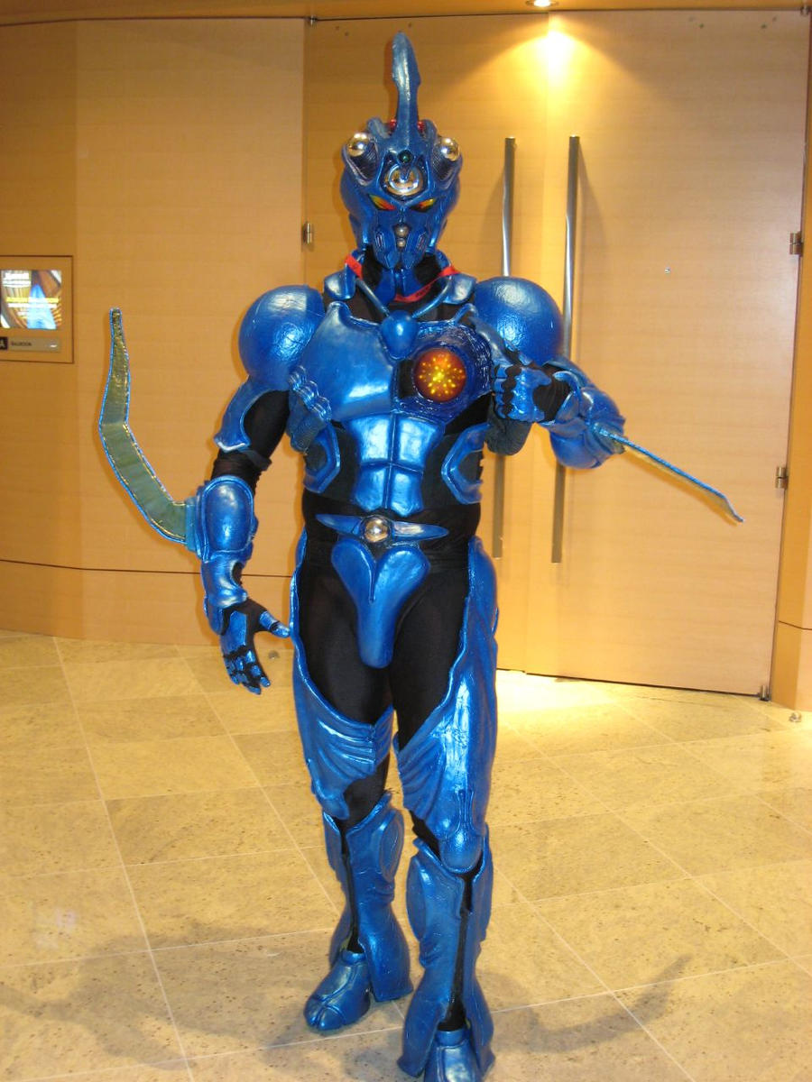 Guyver 1 Armor DC3 by Evil-FX