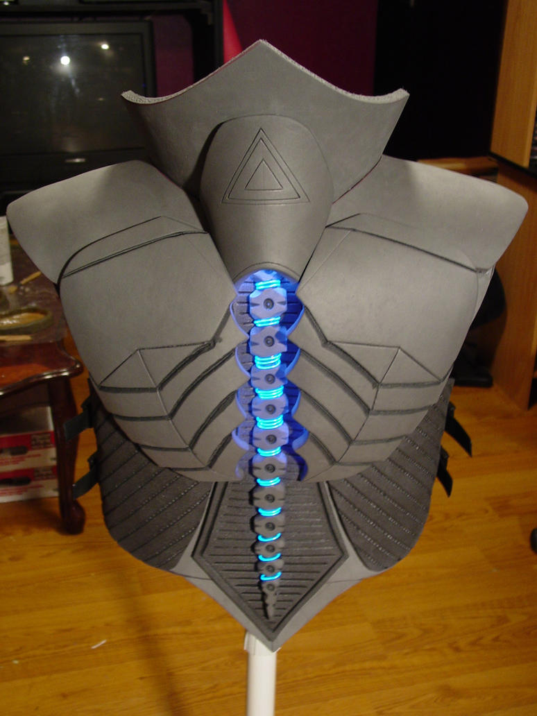 RIGOR Combat Armor Back by Evil-FX