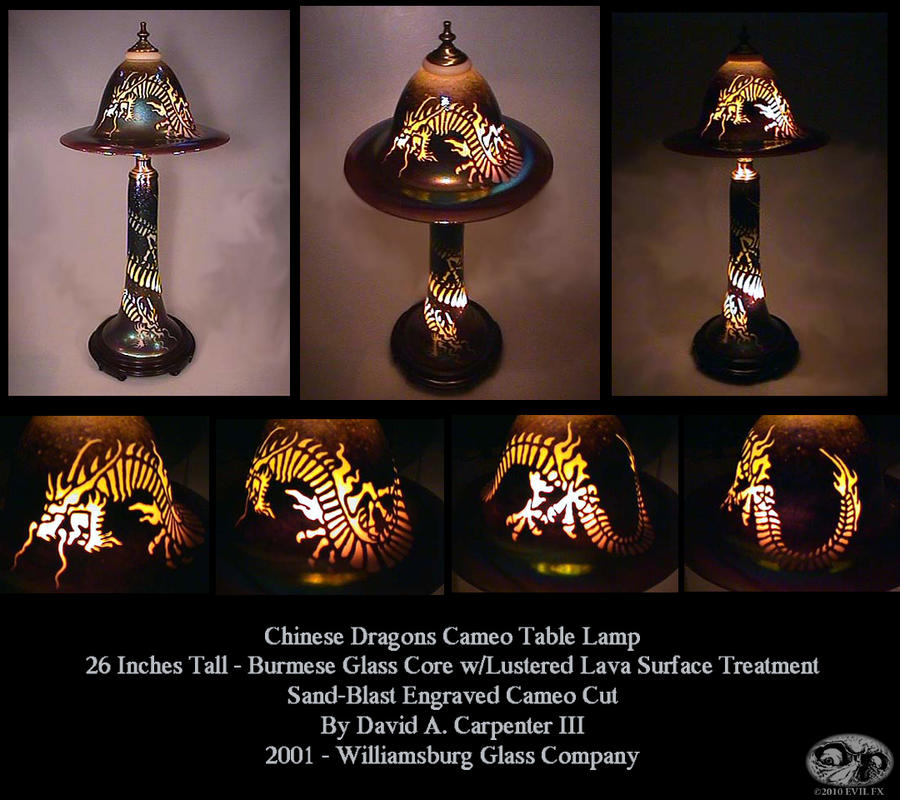 Chinese Dragon Lamp By Evil FX ...