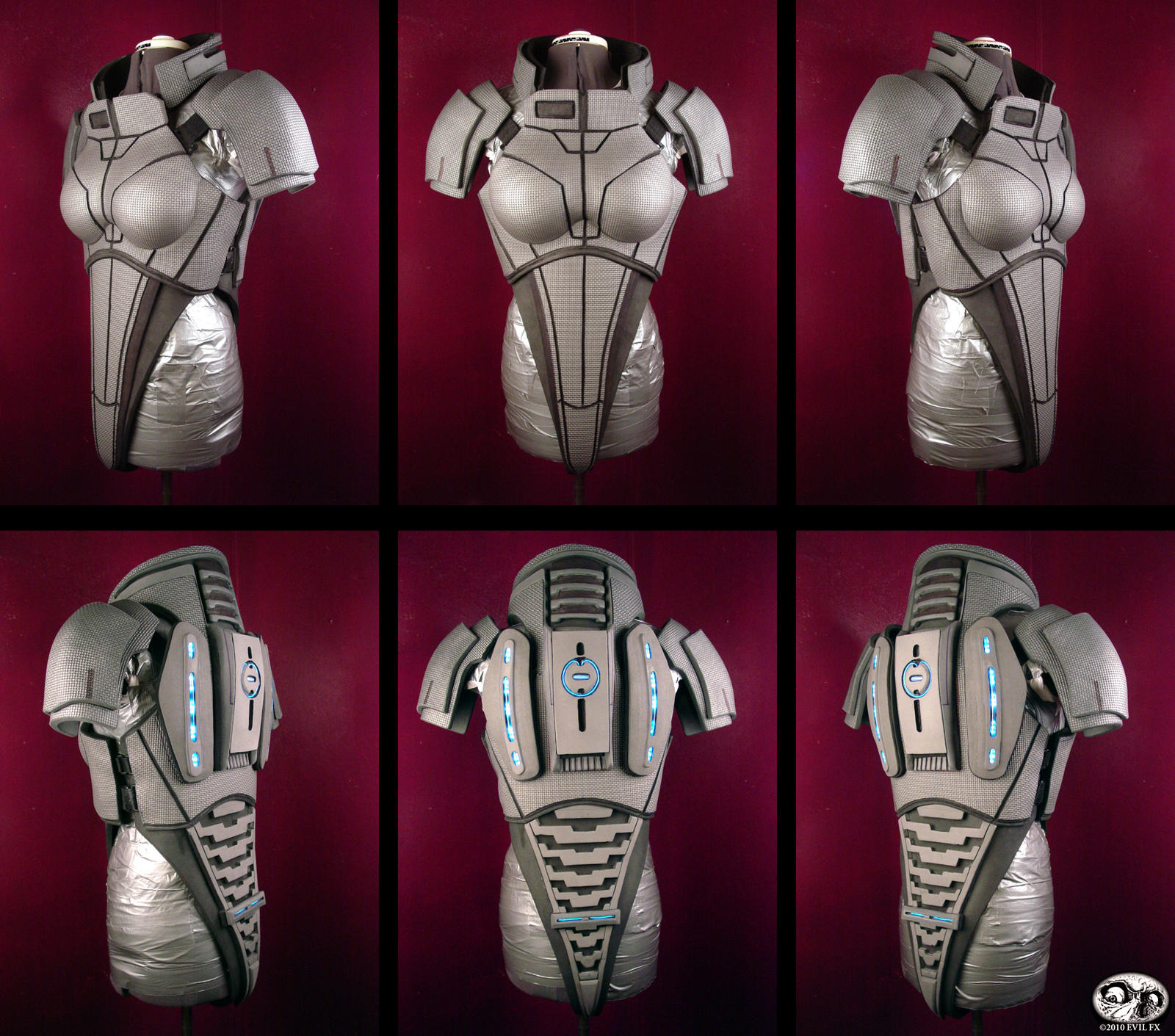 Fem shepard n7 armor day 9 thru 12 evil fx for Mass effect 3 n7 armor template