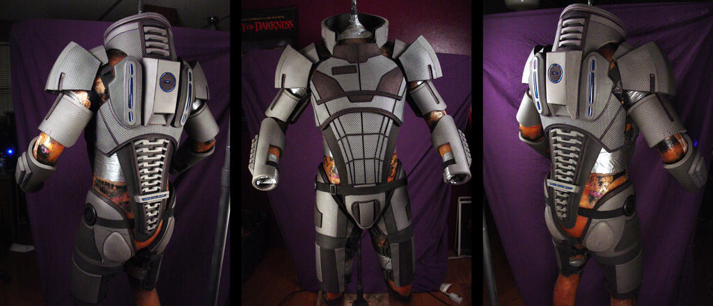 Mass Effect 2 Costume WIP by Evil-FX