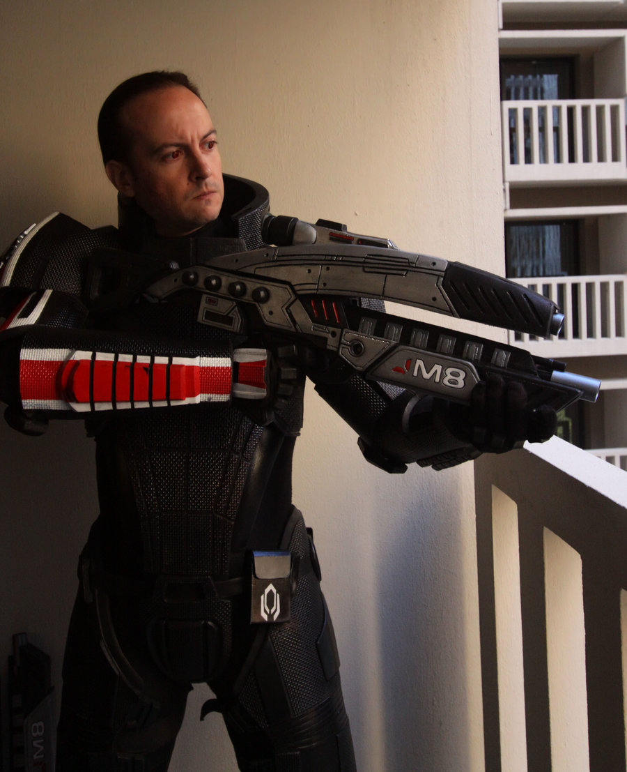 Mass Effect 2 Costume Male 2 by Evil-FX