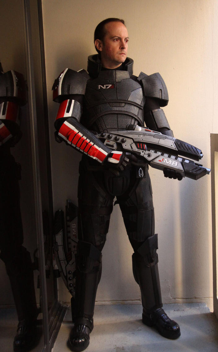 Mass Effect 2 Costume Male 3 by Evil-FX