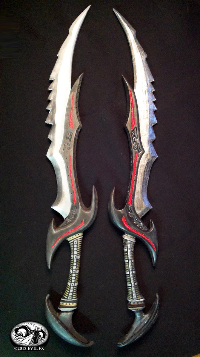 Skyrim Daedric Swords 2 by Evil-FX
