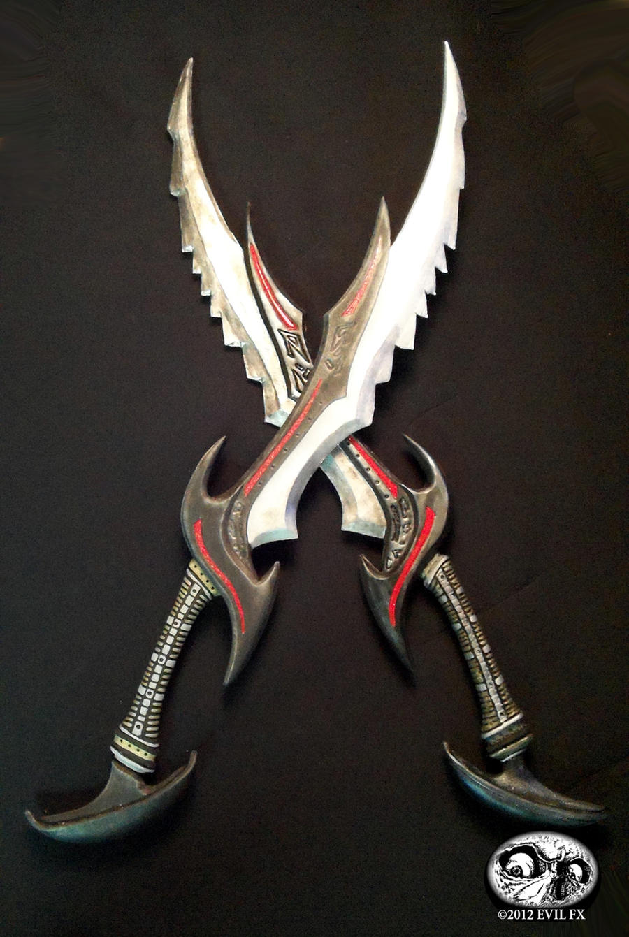 Skyrim Daedric Swords by Evil-FX