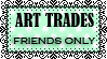 Stamp art trades friends only by pomppet