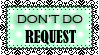 Stamp dont do request by pomppet
