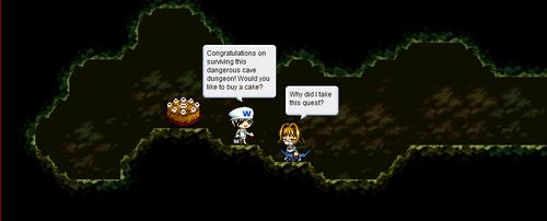 MapleStory - Cake Quest by PentiumMMX