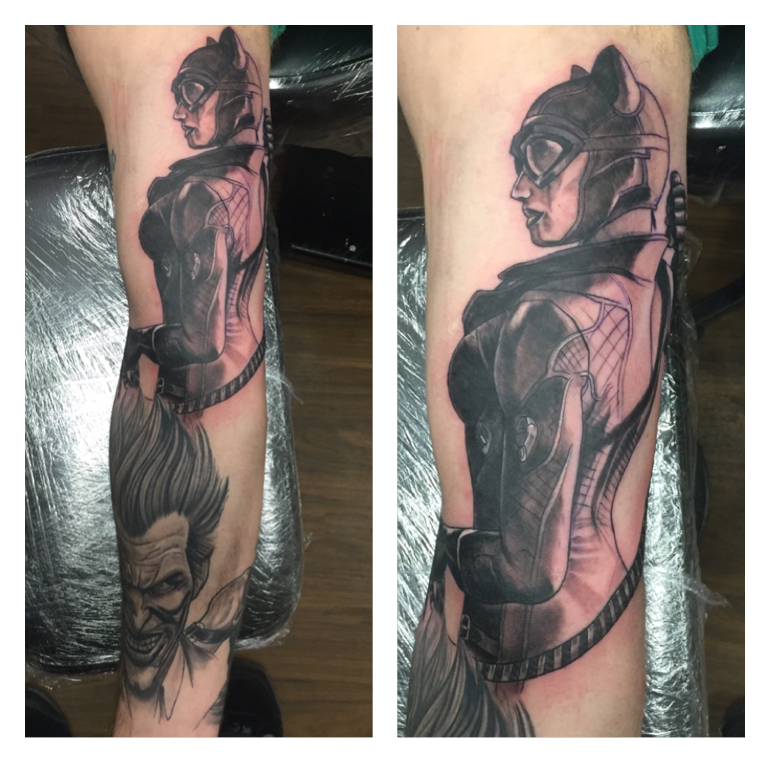 Catwoman tattoo by hilmi69 on deviantart for Cat lady tattoo