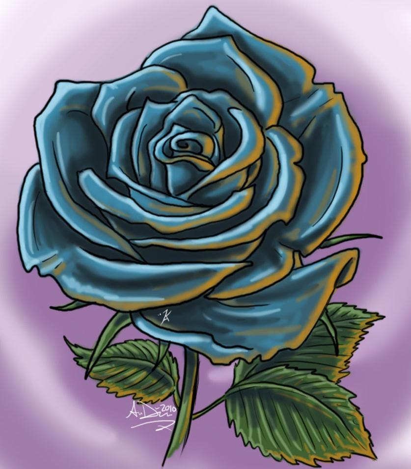 Rose sketch by Kiartia on DeviantArt
