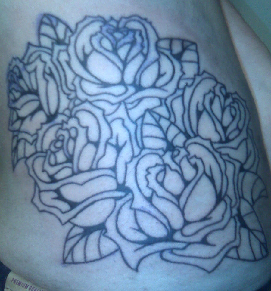 Roses WIP tattoo by Kiartia on deviantART