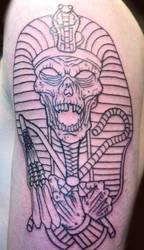 Egyptian Mummy tattoo by Kiartia