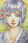 Watercolor - Hinata