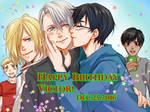 Yuri!!!On Ice - Happy Birthday Victor!