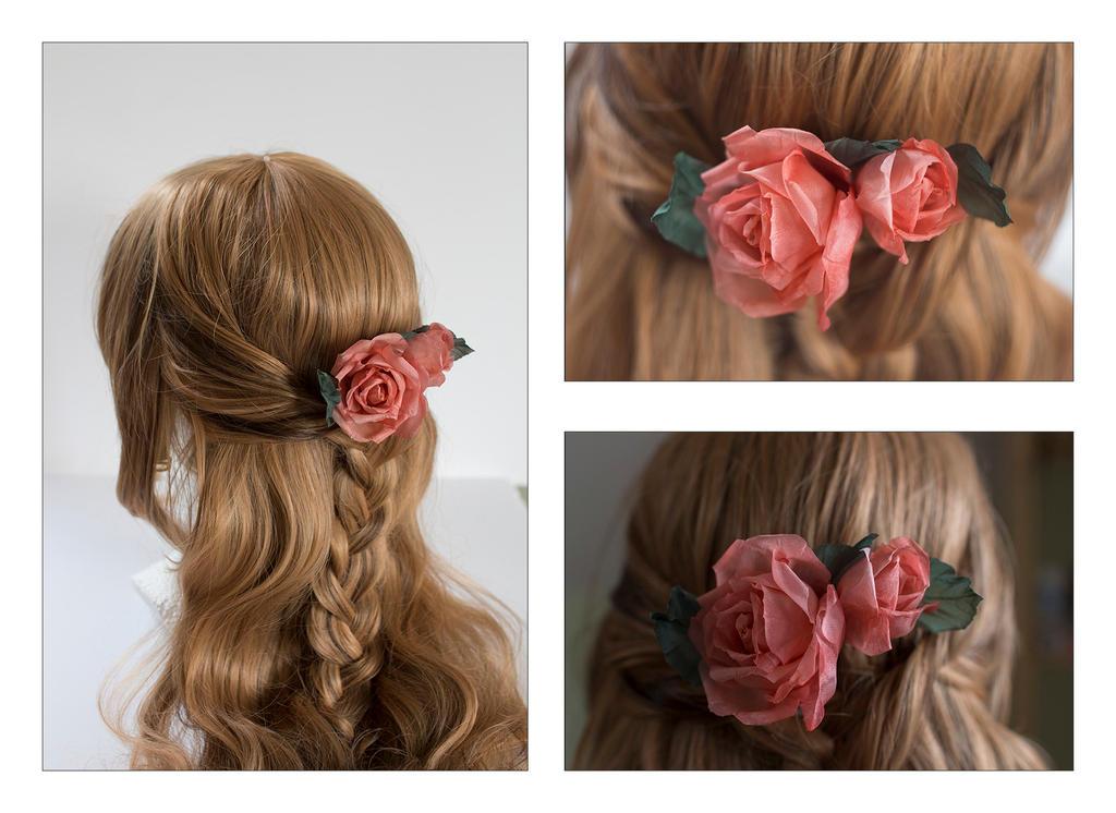 Rose hairpin 11 by TaliaKart