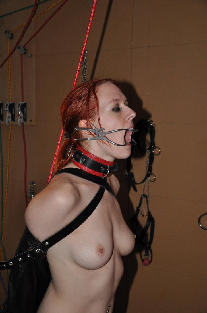 Dental Mouth Clamp Used In Bondage 71
