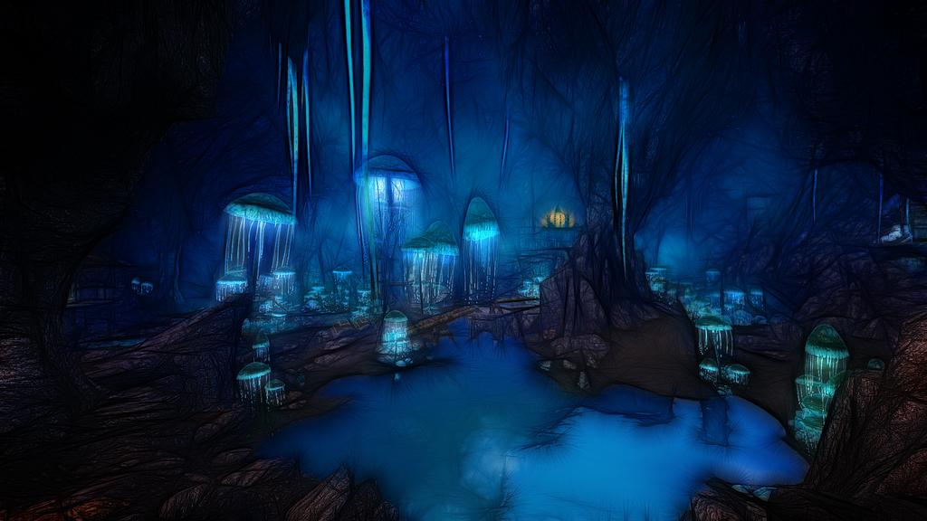 Blackreach cavern by Creathor4005