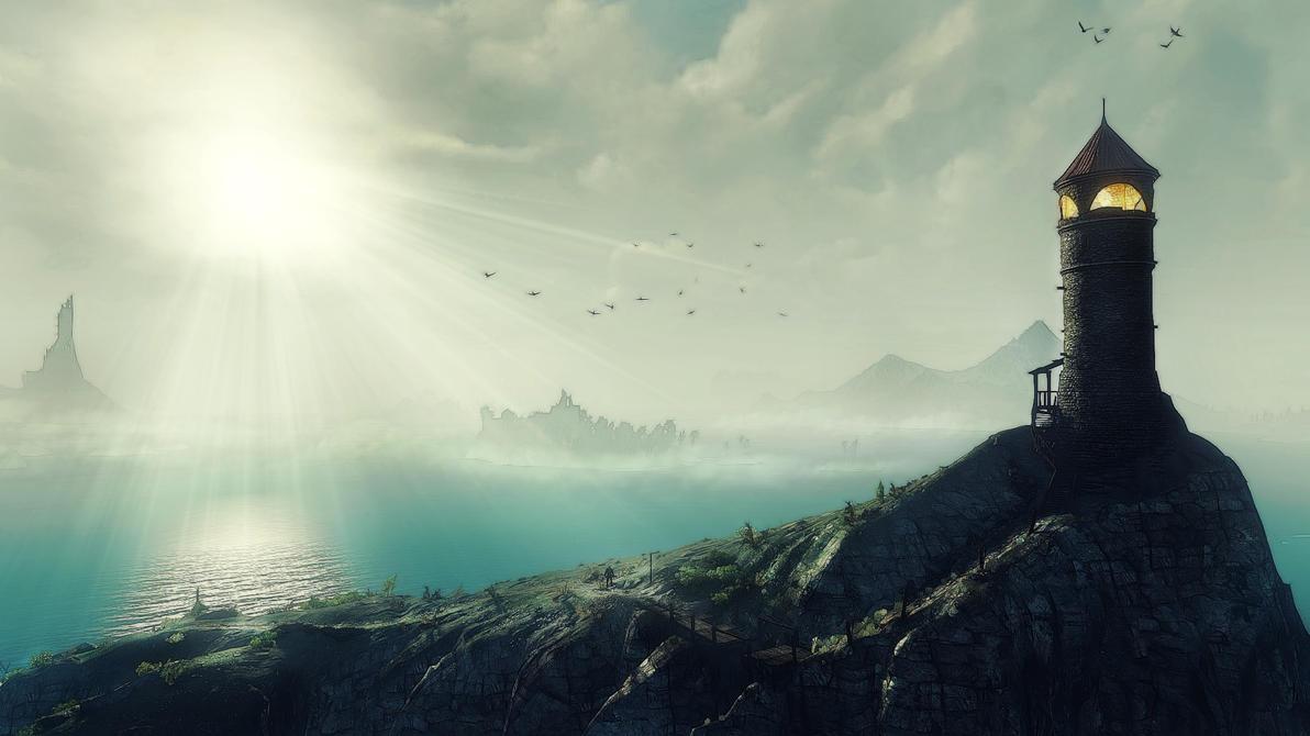 Lighthouse Skellige by Creathor4005