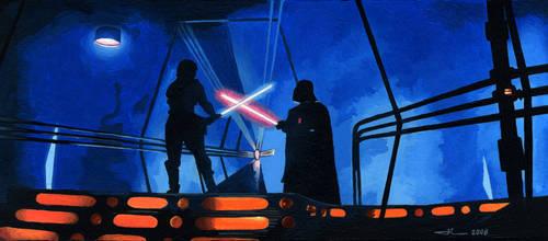 Star Wars - Luke vs Vador
