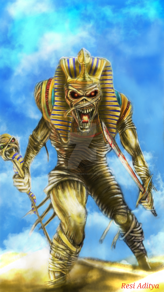 powerslave by adityaresee on deviantart