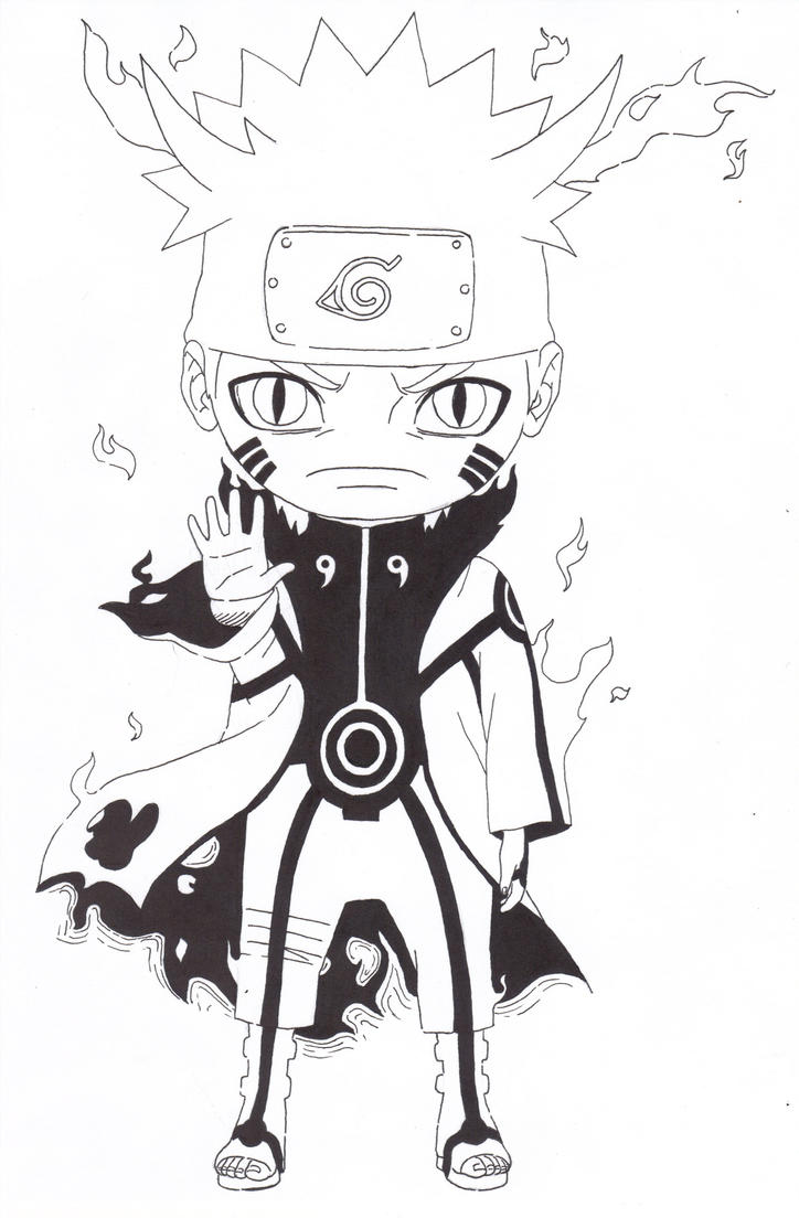 Enhanced Kyuubi Chakra Mode Naruto by TheArk6-14 on DeviantArt