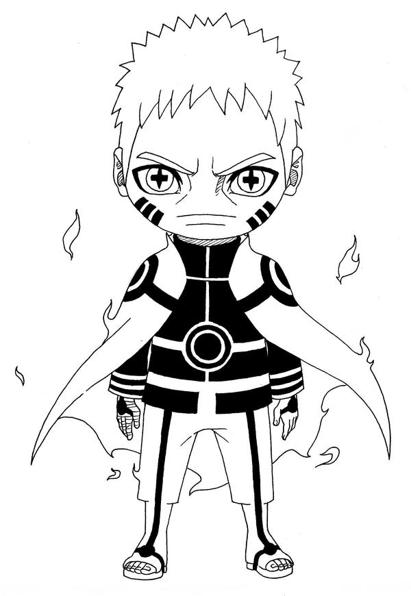 Naruto Chakra Mode Hokage