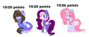ADOPTS OPEN :3 YAY by Lissany626