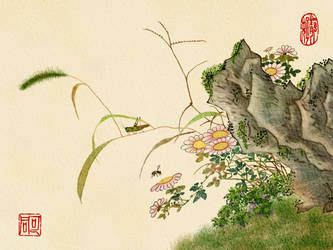 Painting in the Chinese style