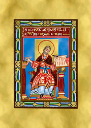 12th Century Illuminated Manuscript