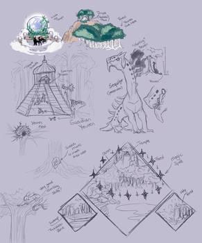 Yevren Lore - Sketches