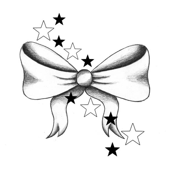 "ribbon drawing - ""Google"" paieška | Bow tattoo, Bow ...  |Bow Tattoo Sketches"