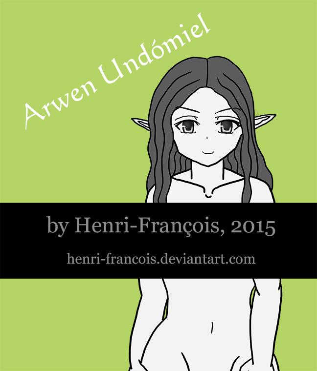 Naked Arwen G-rated Ver. by henri-francois
