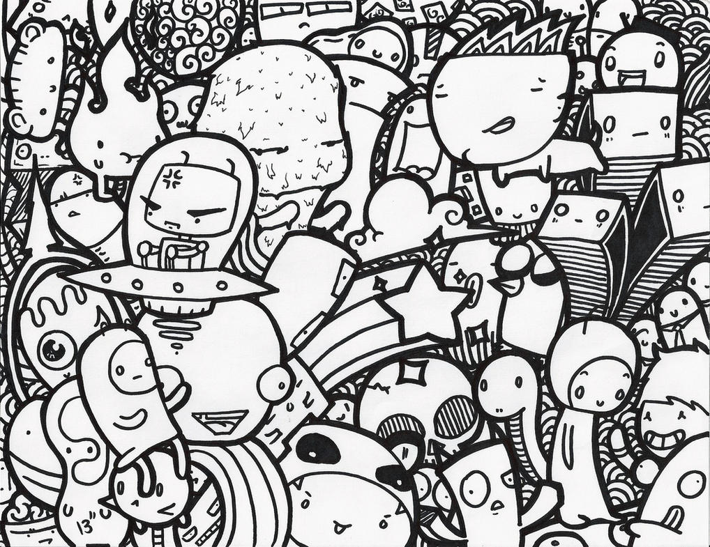 Cute Doodle Wallpaper Viewing Gallery